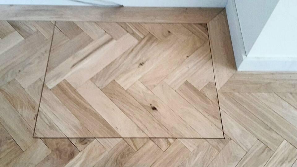Visgraat vloeren de oude plank