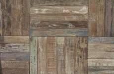 Teak bloc/ Scrapwoord houte vloer