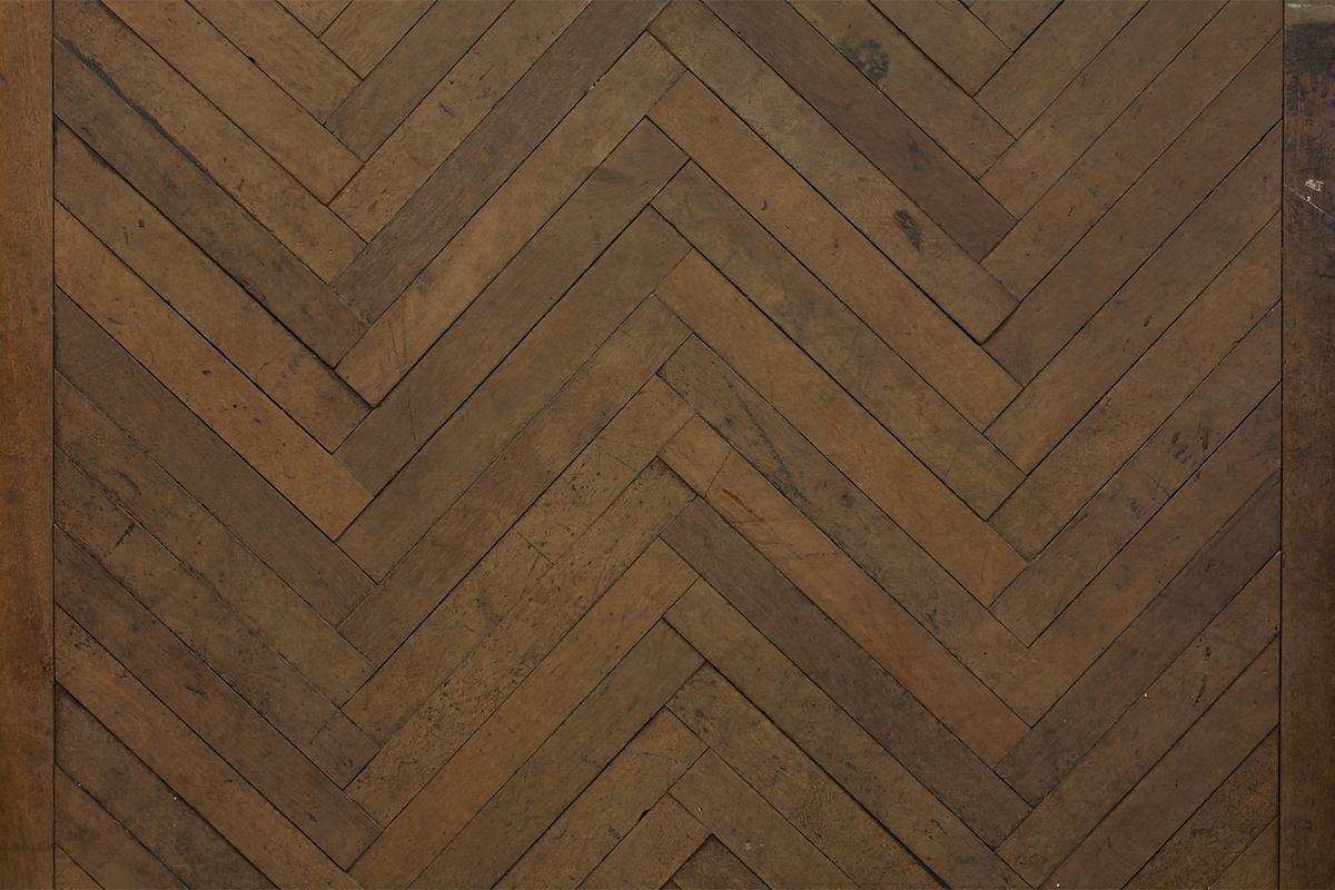 Oude Houten Vloeren : Visgraat oud parket oude meranti de oude plank