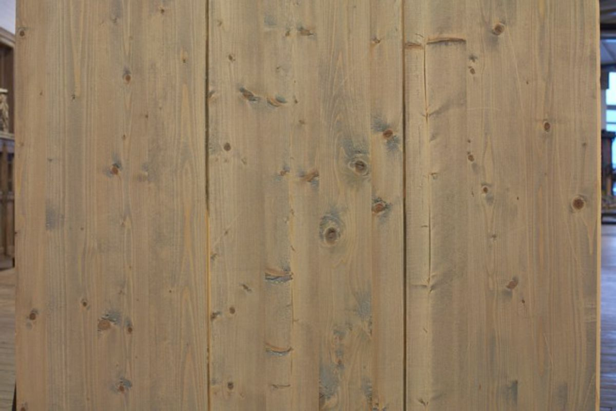Oude kaasplanken houte vloer