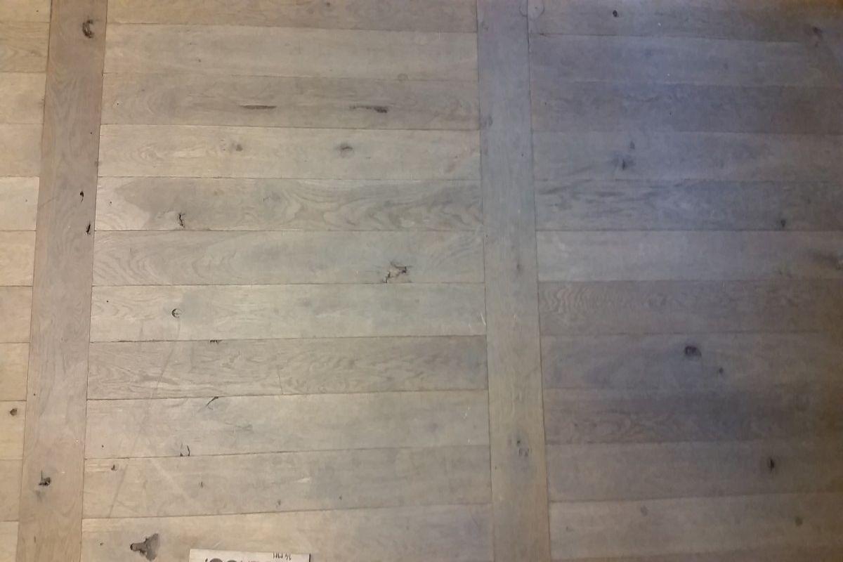 Eiken ladder vloer