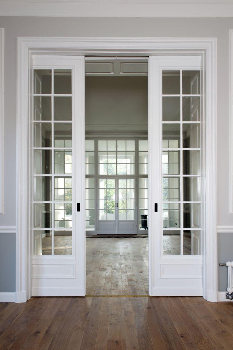 Woonhuis Den Haag, houten vloer - Oude Plank