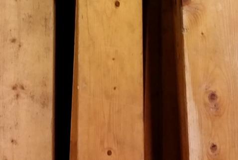 Oud frans eiken planken